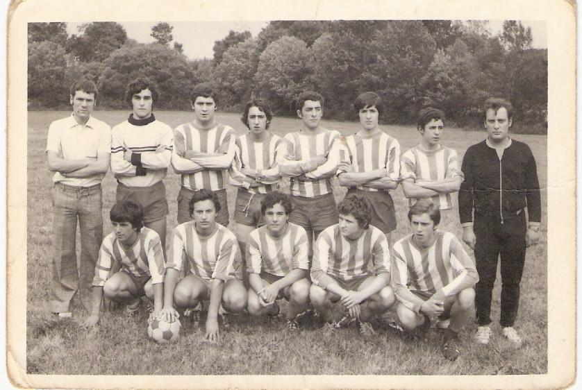 Partido das festas patronais de Baamonde no ano 73-74