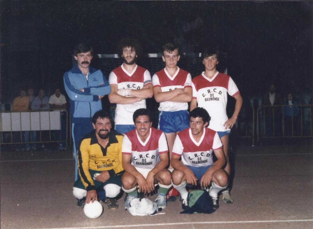 Jugadores del C.R.C.D de Baamonde